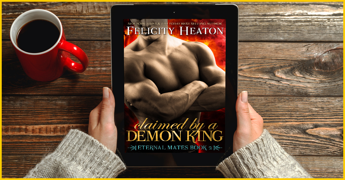 Claimed by a Demon King - Paranormal Romance Book