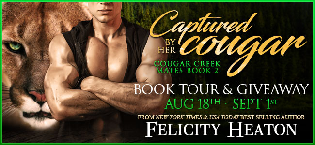 Spotlight:  Captured by her Cougar by Felicity Heaton