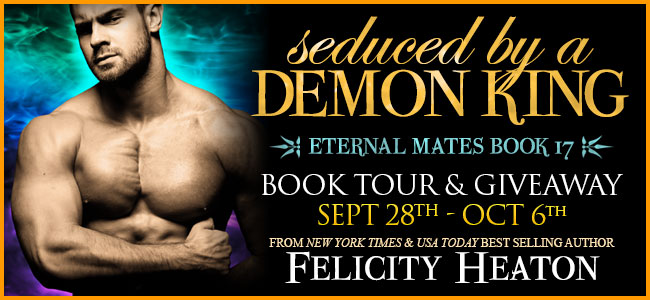 Spotlight:  Seduced by a Demon King by Felicity Heaton