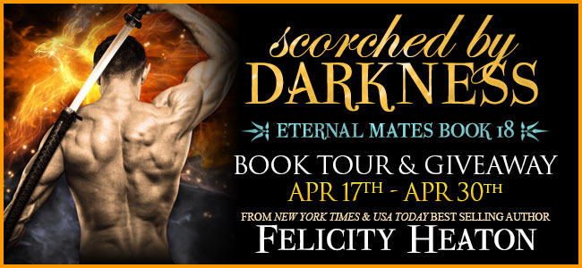 Spotlight:  Scorched by Darkness by Felicity Heaton